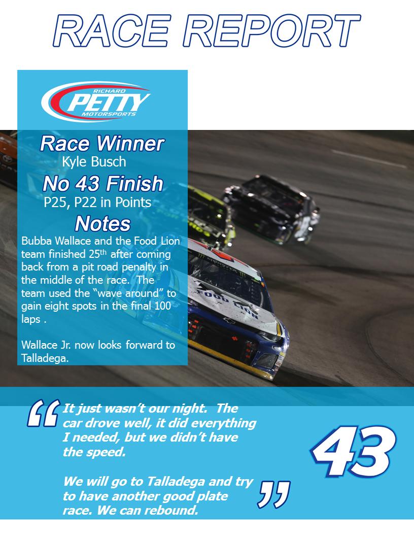 Richmond1 Race Report