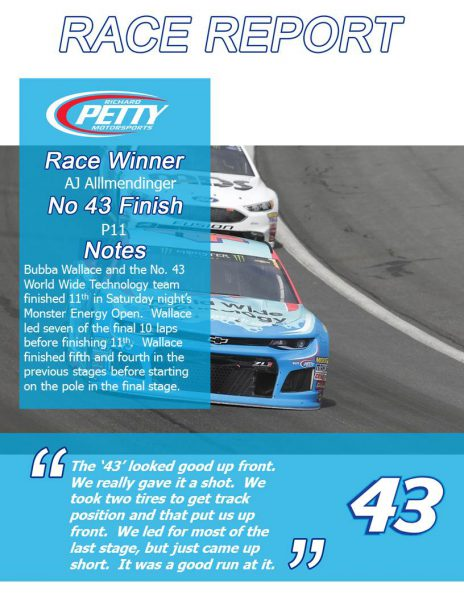 All-Star Race Report
