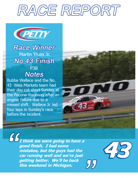 Pocono1 Race Report