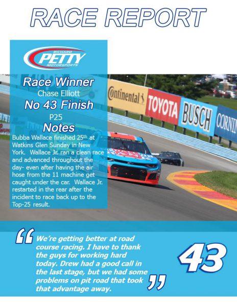The Glen Race Report