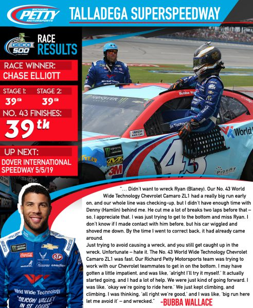 talladega post race report