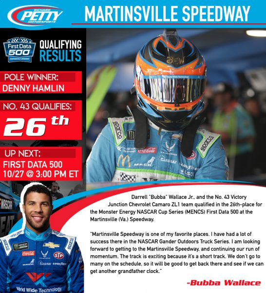 Martinsville2 qualifying results
