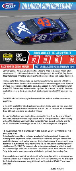 Race Results Dega2-01